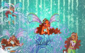 Layla / Aisha kertas dinding