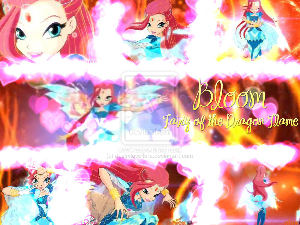 Bloom Bloomix Transformation Wallpaper.