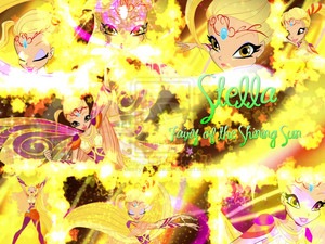 Stella Bloomix Transformation Wallpaper.
