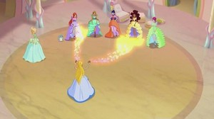 The Winx girls~ Season Six Gowns