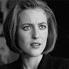 The X-Files fotografia with a portrait titled Dana Scully