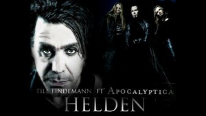 Apolcalyptica and Till Lindemann वॉलपेपर