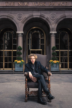 Toby Regbo hình nền containing a street, a business suit, and a brownstone, đá nâu called Toby Regbo