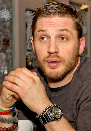 Tom Hardy shares hopes and fears with Prince's Trust young person