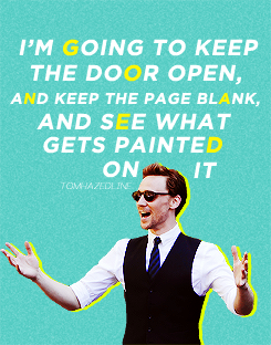 Tom Hiddleston Quotes