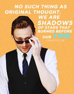 Tom Hiddleston nukuu