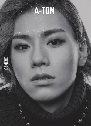 A-Tom teaser bức ảnh for 2nd mini album 'Open the Door' ('Come In')