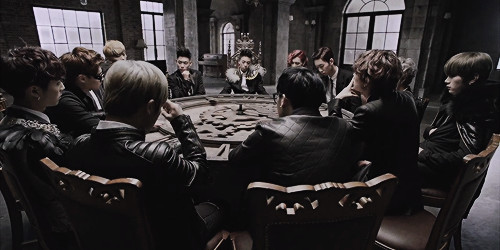 Topp Dogg Hintergrund with a brasserie entitled ♣ TOPP DOGG - Open The Door MV Teaser ♣
