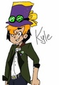 My new oc Kyle - total-drama-island-fancharacters photo