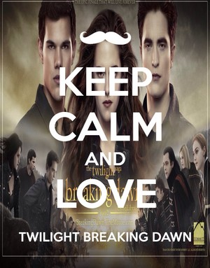 Keep calm and 爱情 Breaking Dawn