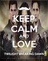 Keep calm and Love Breaking Dawn - twilight-series fan art