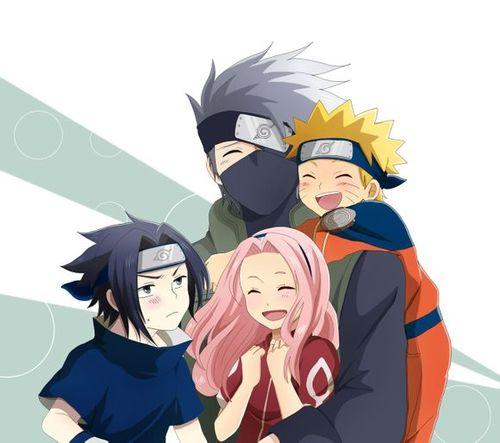 Sasuke sakura Naruto and