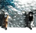 Sasuke and Naruto - uchiha-sasuke fan art