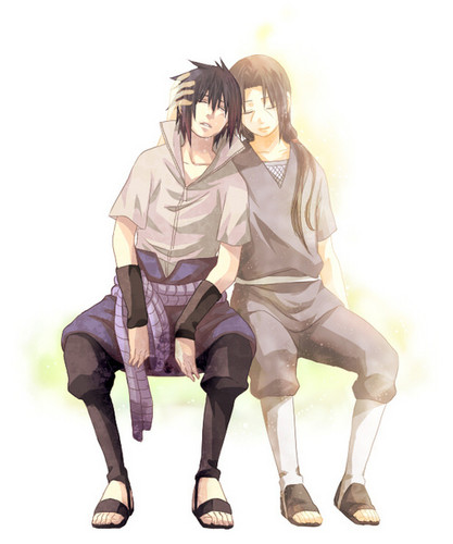 Sasuke Ichiwa fond d'écran probably containing a hip boot and a well dressed person called Sasuke and Itachi Uchiha