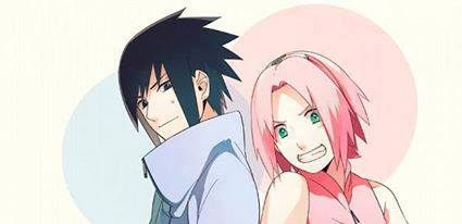 Sasuke Ichiwa fond d'écran titled Sasuke and Sakura