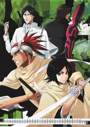 Uryu Ishida, Chad, Renji and Rukia