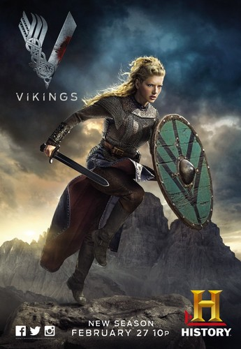 vikingos (serie de televisión) wallpaper entitled Vikings Season 2 Promotional Poster