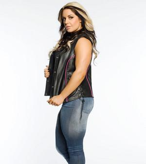 Kaitlyn as 'Stone Cold' Steve Austin