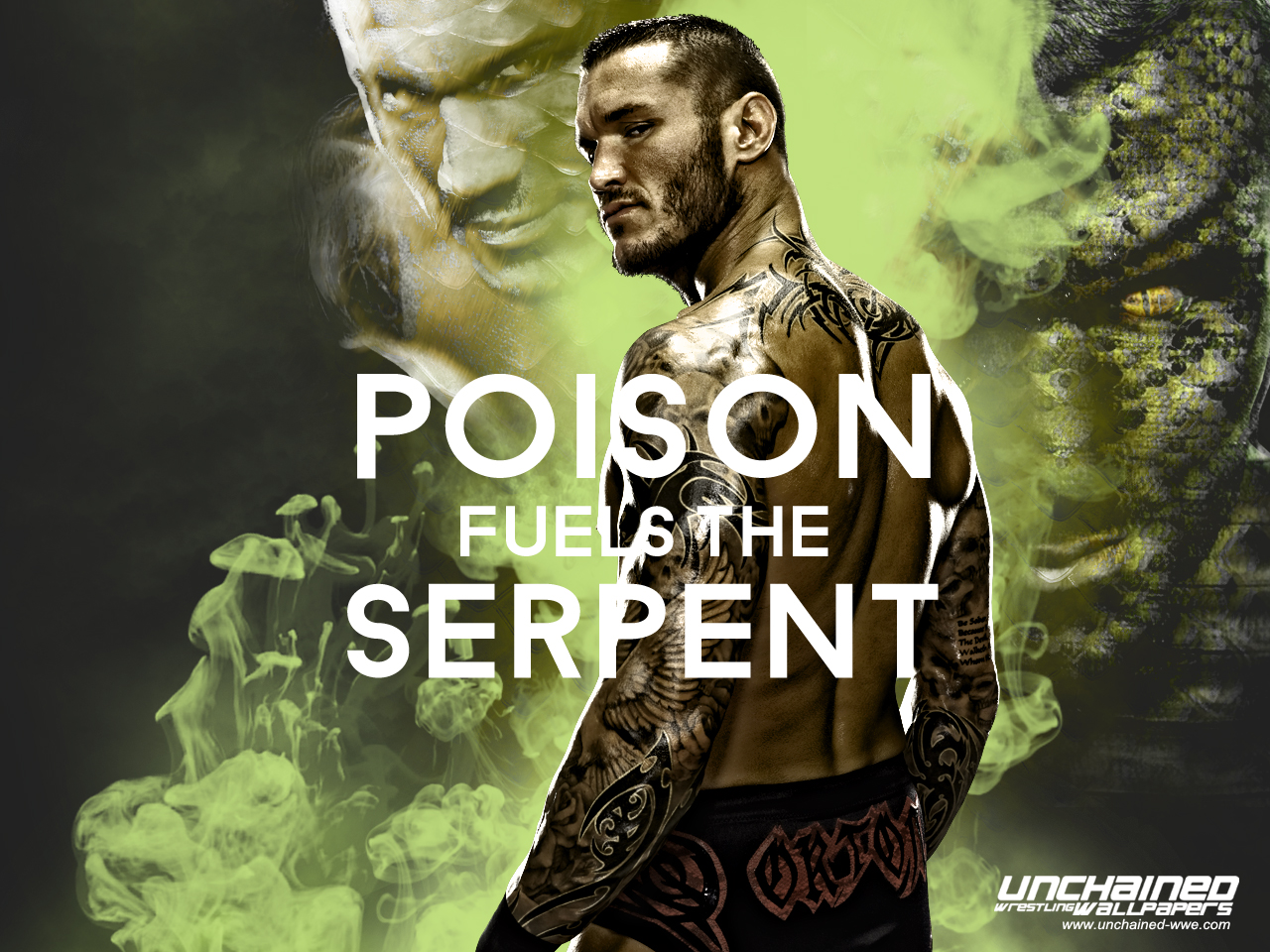 Randy Orton - Poison fuels the Serpent