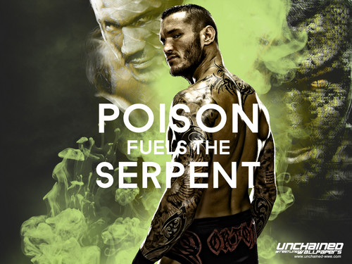 WWE wallpaper called Randy Orton - Poison fuels the Serpent