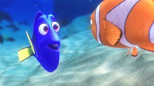 Disney•Pixar Screencaps - Dory & aguja, marlin