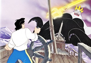 Walt Disney Book تصاویر - Prince Eric & Ursula