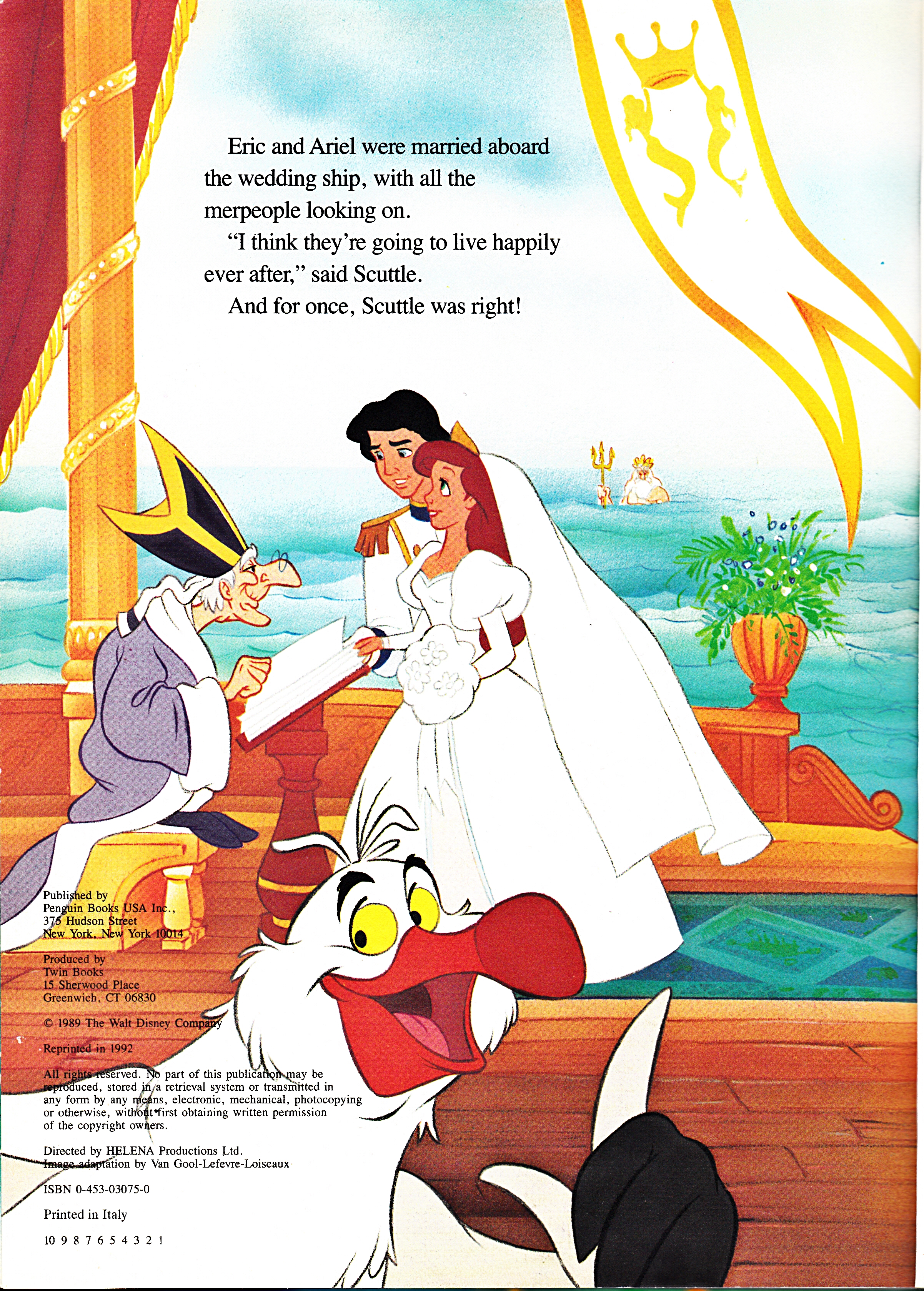 Walt Disney Book Images The Priest Prince Eric