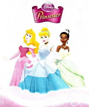 Disney Princess - Princess Aurora, Princess Sinderella & Princess Tiana