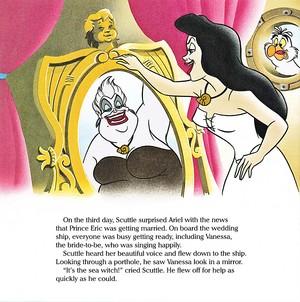 Walt ডিজনি Book প্রতিমূর্তি - Ursula, Vanessa & Scuttle