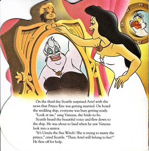 Walt Disney Book Images - Ursula, Vanessa & Scuttle