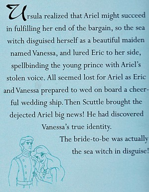 Walt disney Sketches - Prince Eric & Vanessa