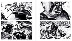 Walt Disney Sketches - Ursula & Prince Eric