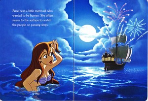 Walt Disney Book Bilder - Princess Ariel