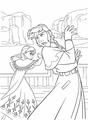 Walt Disney Coloring Pages - Princess Anna & Prince Hans Westerguard