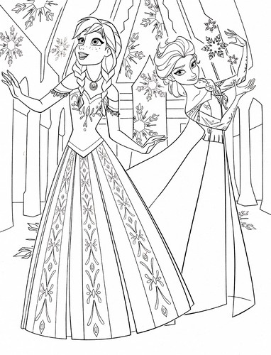 Walt Disney Characters Achtergrond Titled Coloring Pages