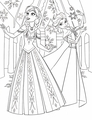Walt Disney Coloring Pages - Princess Anna & Queen Elsa - walt-disney-characters photo