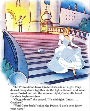 Walt disney Book imágenes - Prince Charming & Princess cenicienta