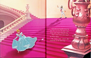 Walt Disney Book Bilder - Princess Aschenputtel & The Grand Duke