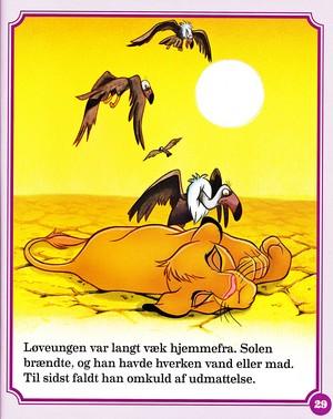 Walt disney Book imágenes - Simba