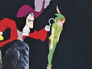 Walt ディズニー Screencaps - Captain Hook & Peter Pan
