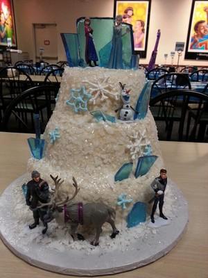 Walt 디즈니 Cakes - 겨울왕국