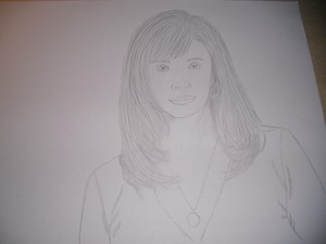 Lauren holly drawing