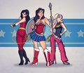 Wonder Trinity - wonder-woman fan art