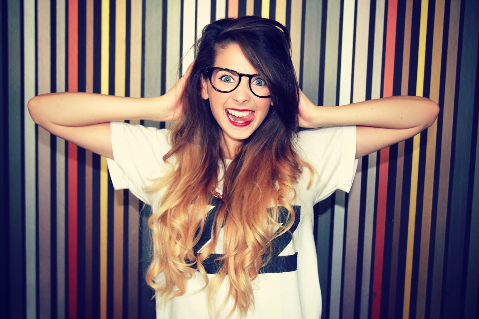 Zoella images Crazy Zoe!!! HD wallpaper and background ...