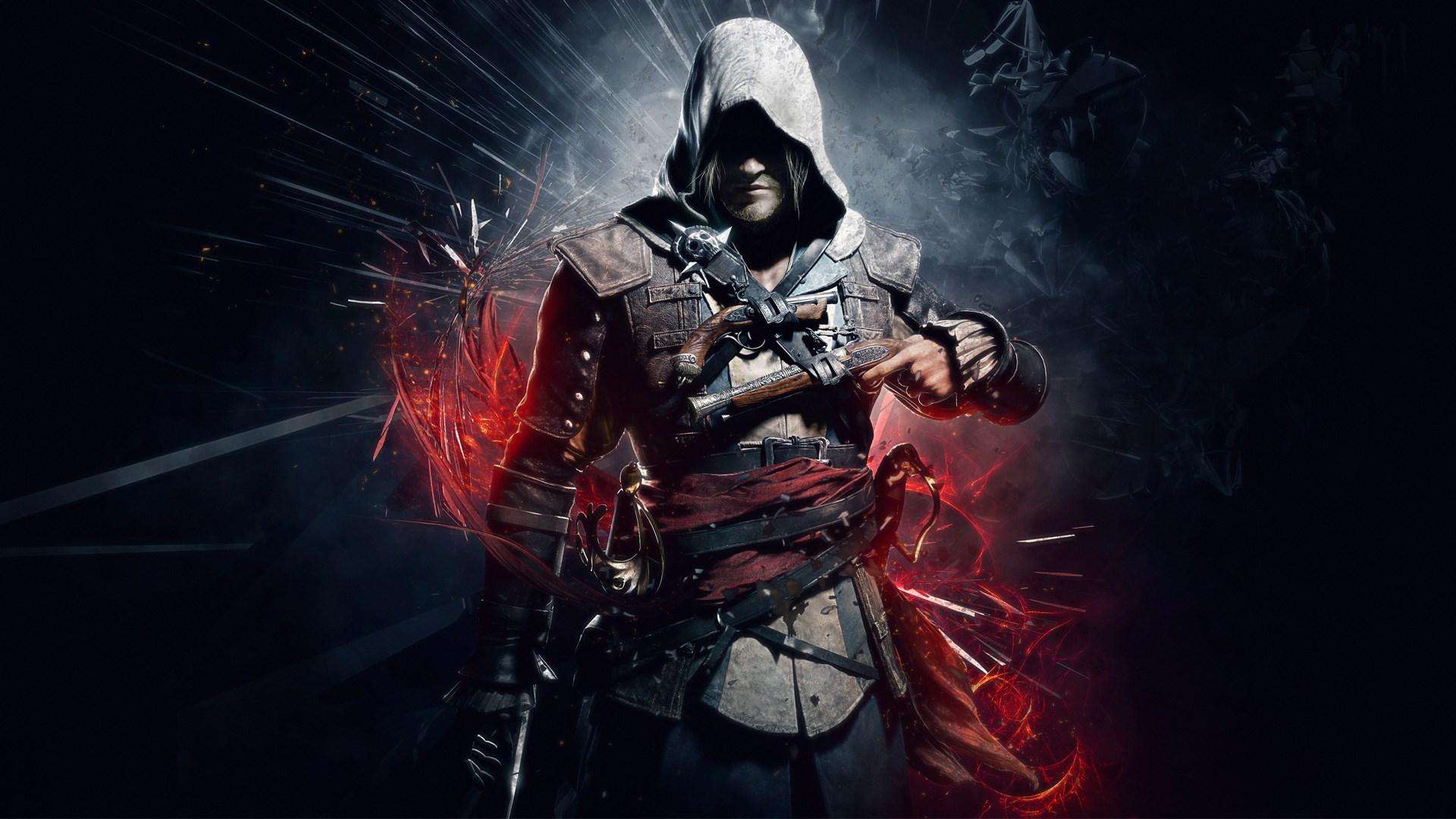 assassins creed 4 black flag fond d'écran 1