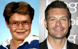 Ryan Seacrest - Then and Now