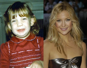 Kate Hudson - Then and Now