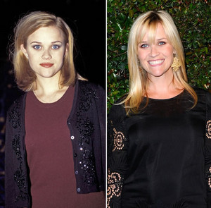 Reese Witherspoon - Then and Now