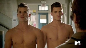 hot and shirtless