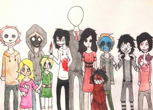 Creepypasta family foto